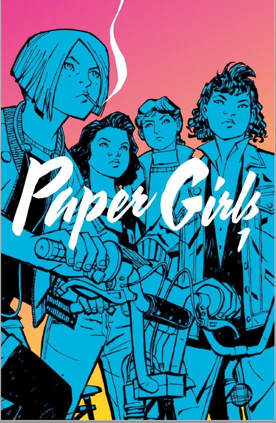 Paper GIrls Volume 1 cover