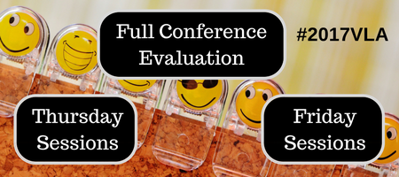 VLA Conference Evaluation Buttons