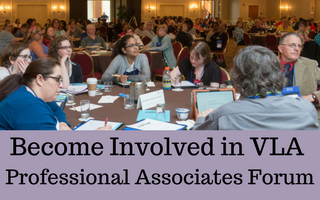 Become Involved in VLA Professional Associates Forum